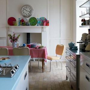 Cocina de estilo vintage